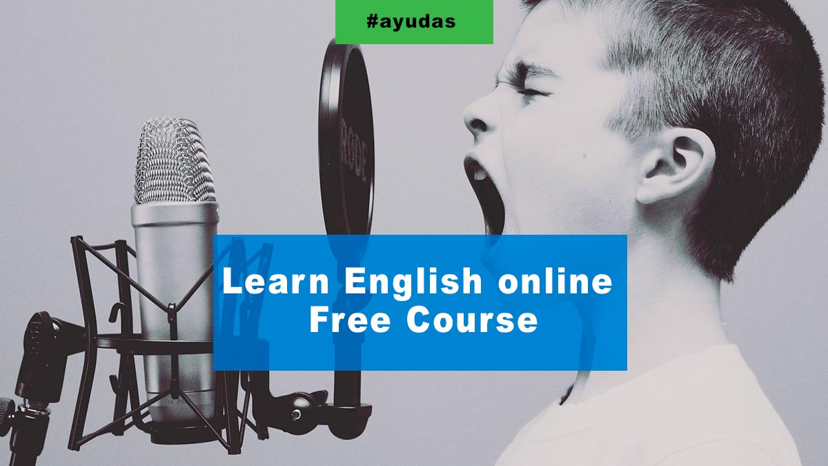 Learn English online Free Course