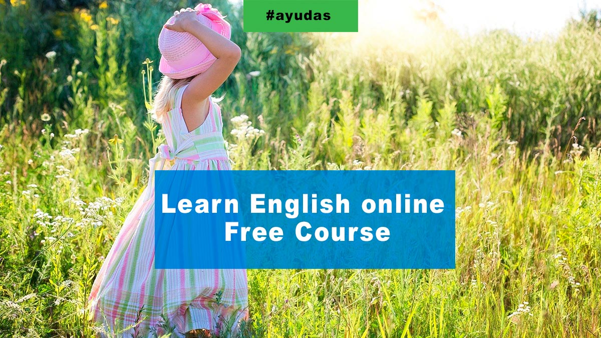 ✅  Learn English online Free Course  and on your mobile phone 🙂